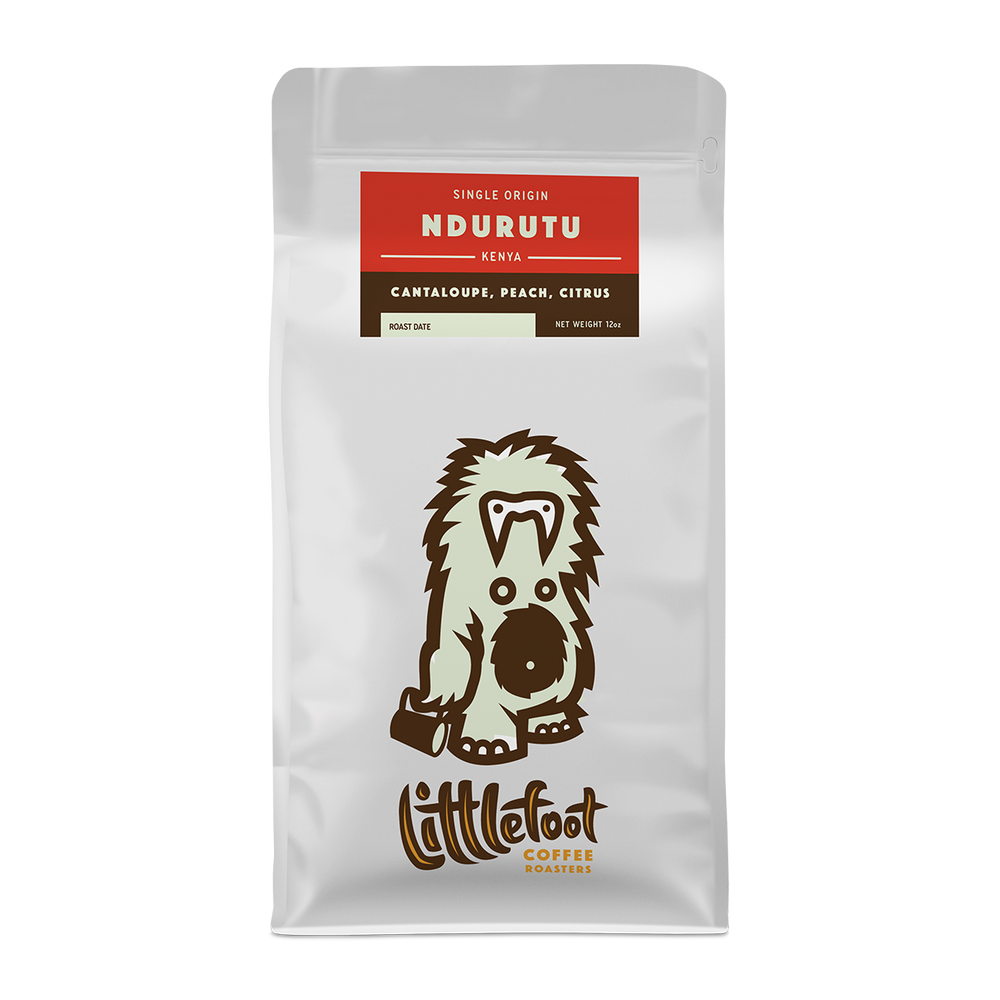 Ndurutu Littlefoot Coffee 12oz. bag