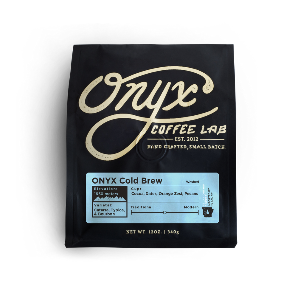 Onyx Cold Brew Onyx Coffee Lab 12oz. bag 04-27-2018