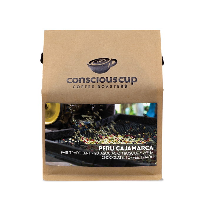 Peru, Cajamarca Conscious Cup Coffee Roasters 12oz. bag 05-30-2018