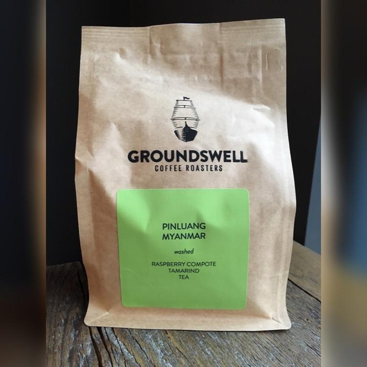 Pinlaung, Myanmar Groundswell Coffee Roasters 12oz. bag