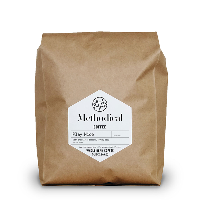 Play Nice (5lb.) Methodical Coffee 5lb bag