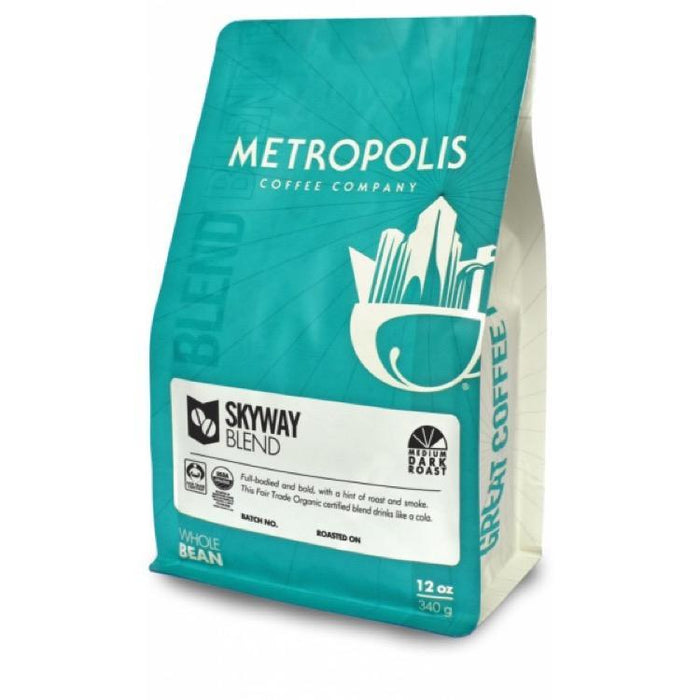 Skyway Blend Fair Trade Organic Metropolis Coffee Company 12oz. bag Default Title