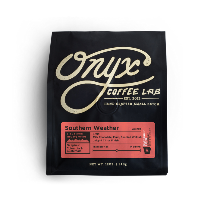 Southern Weather Onyx Coffee Lab 12oz. bag 05-02-2018
