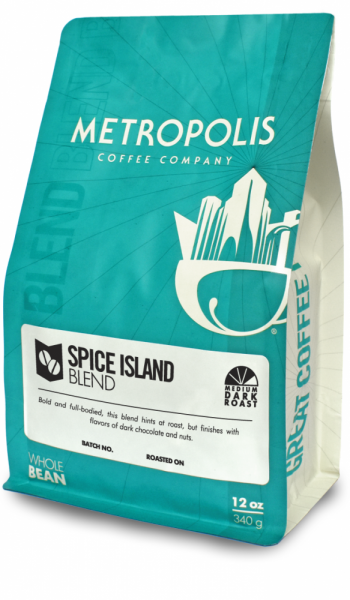 Spice Island Blend 2lb Metropolis Coffee Company 2lb bag Whole Bean