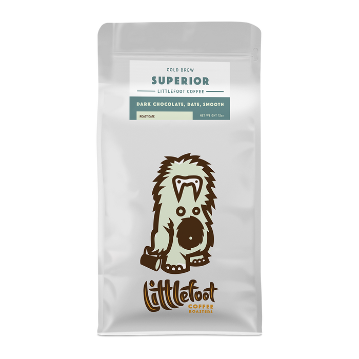 Superior Cold Brew Littlefoot Coffee 12oz. bag