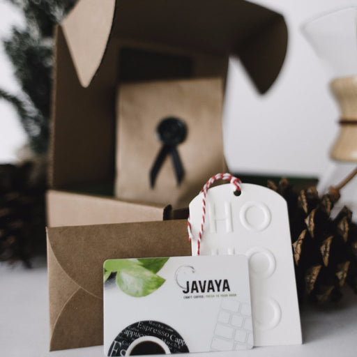 Taste of Craft Coffee Javaya • getjavaya.com Gift Set