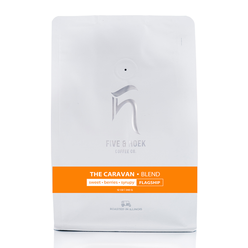 The Caravan Blend Five & Hoek Coffee Co. 12oz. bag 05-16-2018
