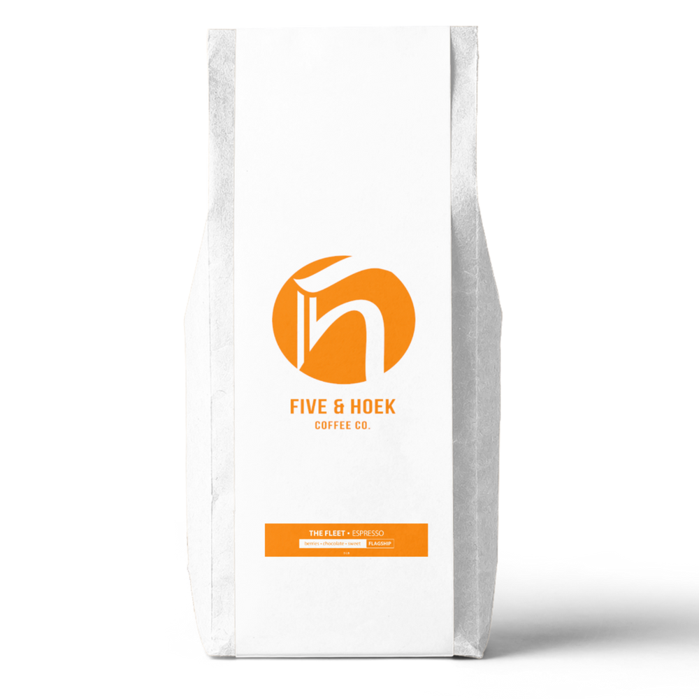 The Fleet Espresso Blend (5lb.) Five & Hoek Coffee Co. 5lb bag