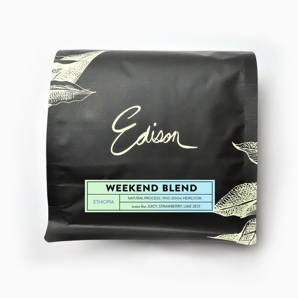 Weekend Blend Edison Coffee Co. 12oz.