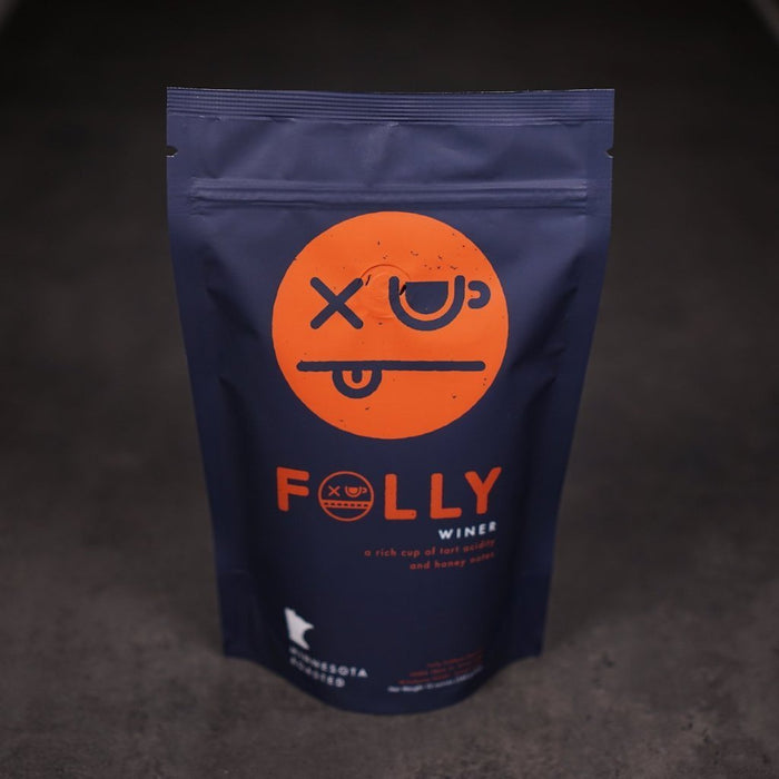 Winer Folly Coffee Roasters 12oz. bag 05-02-2018