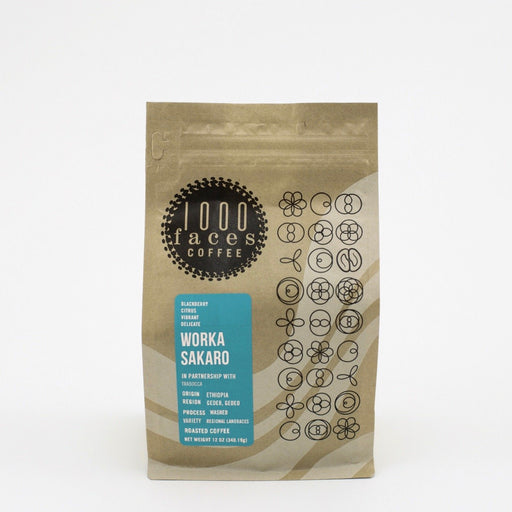 Worka Sakaro 1000 Faces Coffee 12oz.