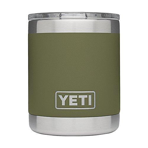 YETI Rambler 10oz Vacuum Insulated Stainless Steel Lowball with Lid Javaya • getjavaya.com Mugs Olive