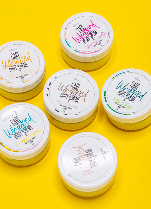 Travel Sized Pack - Cari Whipped Body Crème