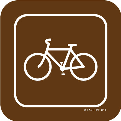 Bike Sign Sticker