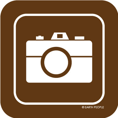 Camera Sign Sticker