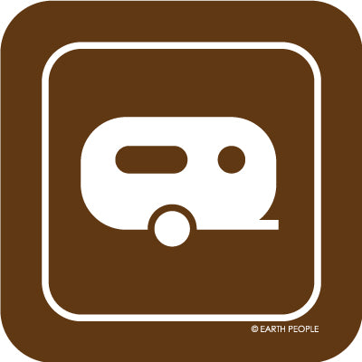 Camper Sign Sticker