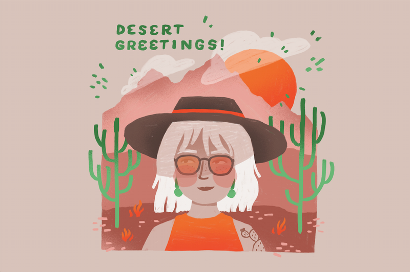 Postcards by Abby Leighton