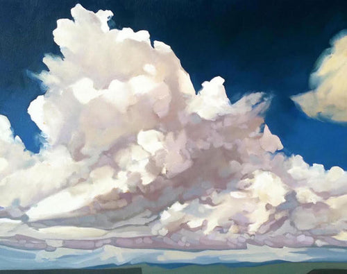 """Maynards Clouds"" Art Print by Julia Buckwalter"