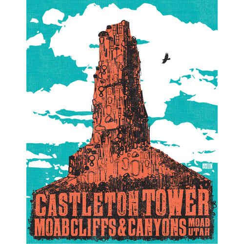"""Castleton"" Art Print by MIK"