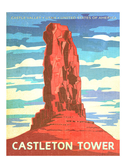 "MIK_Print ""Castleton"" By Mik Allister"