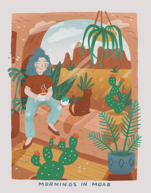 "AL_Print ""Mornings In Moab"" by Abby Leighton"