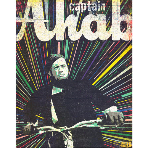 "MIK_Print ""Captain Ahab"" By Mik Allister"