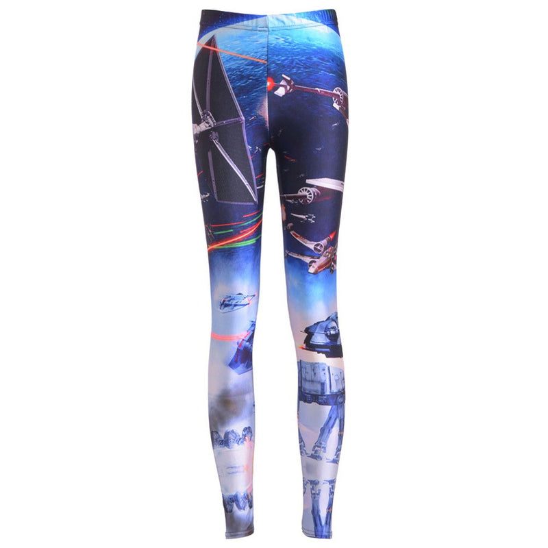 Leggings: Star Wars stemz with AT-AT Walkers & X-Wings. #leggingsarepants #maythe4thbewithyou #nicestemz #starwarsfan #starwarsgirl