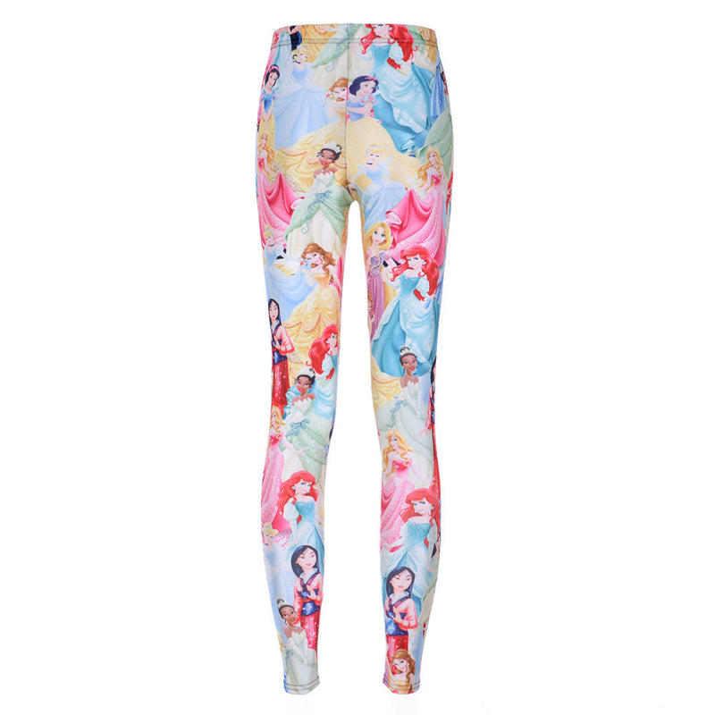 Disney princess leggings