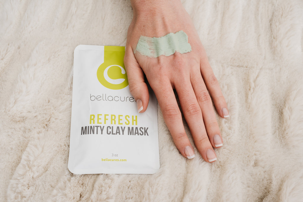 REFRESH Minty Clay Mask 5-Pack