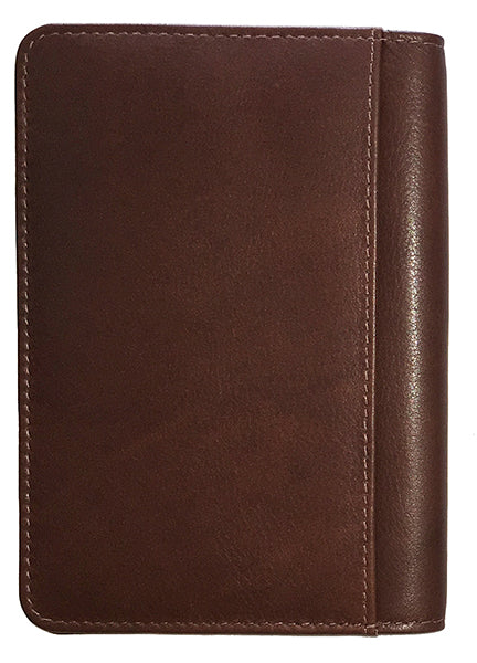 Personalized Monogrammed Leather RFID Passport Cover Holder - A&A Creative Designs