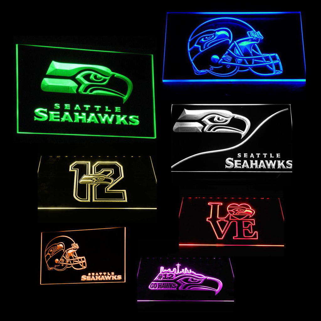 Seattle Seahawks Man Cave Design Ideas