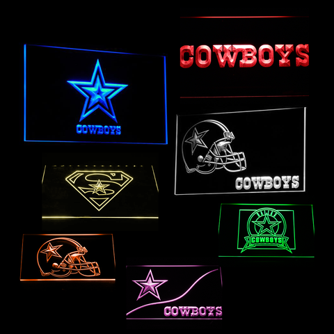 Dallas Cowboys LED Signs