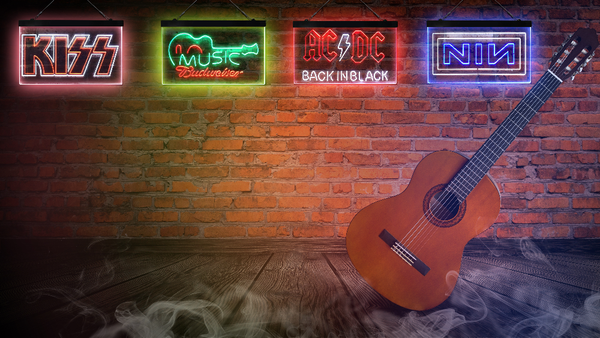 Shop Music Dual Color Neon-Like signs