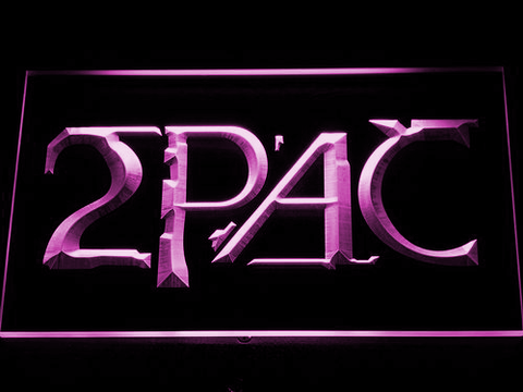 Image of 2Pac LED Neon Sign - Purple - SafeSpecial
