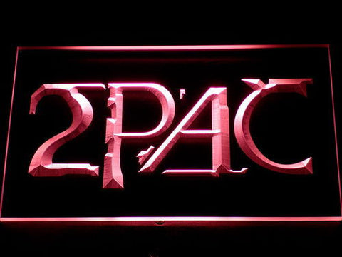 2Pac LED Neon Sign - Red - SafeSpecial