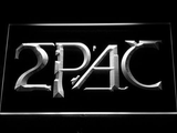 2Pac LED Neon Sign - White - SafeSpecial