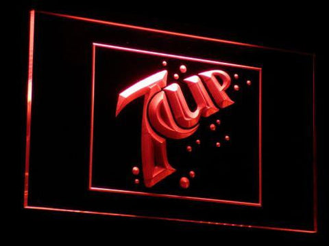 Image of 7Up LED Neon Sign - Red - SafeSpecial