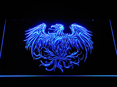 Image of A Day to Remember Eagle LED Neon Sign - Blue - SafeSpecial