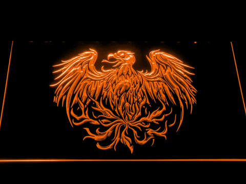Image of A Day to Remember Eagle LED Neon Sign - Orange - SafeSpecial