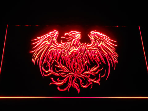 Image of A Day to Remember Eagle LED Neon Sign - Red - SafeSpecial