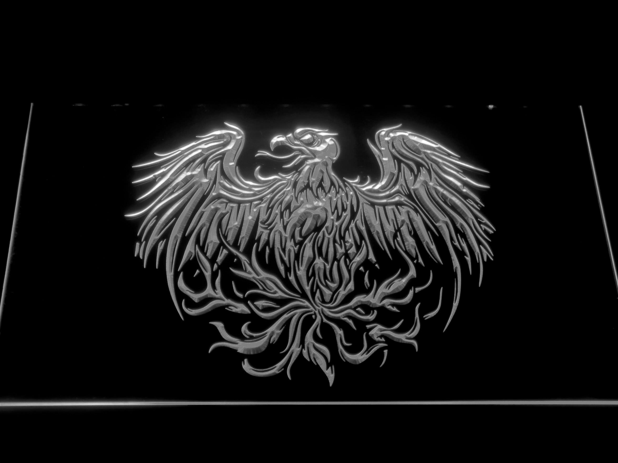 A Day to Remember Eagle LED Neon Sign | SafeSpecial A Day To Remember Golden Eagle
