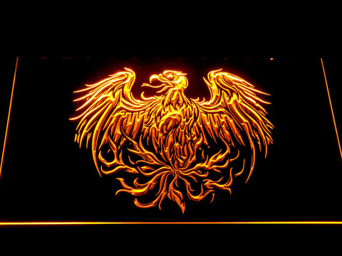 Image of A Day to Remember Eagle LED Neon Sign - Yellow - SafeSpecial