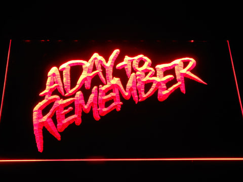 A Day to Remember Homesick LED Neon Sign - Red - SafeSpecial