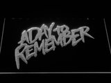 A Day to Remember Homesick LED Neon Sign - White - SafeSpecial