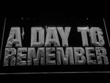 A Day to Remember LED Neon Sign - White - SafeSpecial
