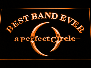 A Perfect Circle Best Band Ever LED Neon Sign - Orange - SafeSpecial