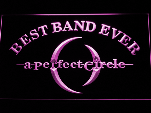 A Perfect Circle Best Band Ever LED Neon Sign - Purple - SafeSpecial