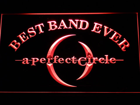 Image of A Perfect Circle Best Band Ever LED Neon Sign - Red - SafeSpecial
