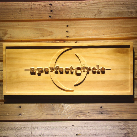 A Perfect Circle Wooden Sign - Small - SafeSpecial