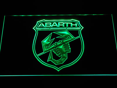 Abarth LED Neon Sign - Green - SafeSpecial